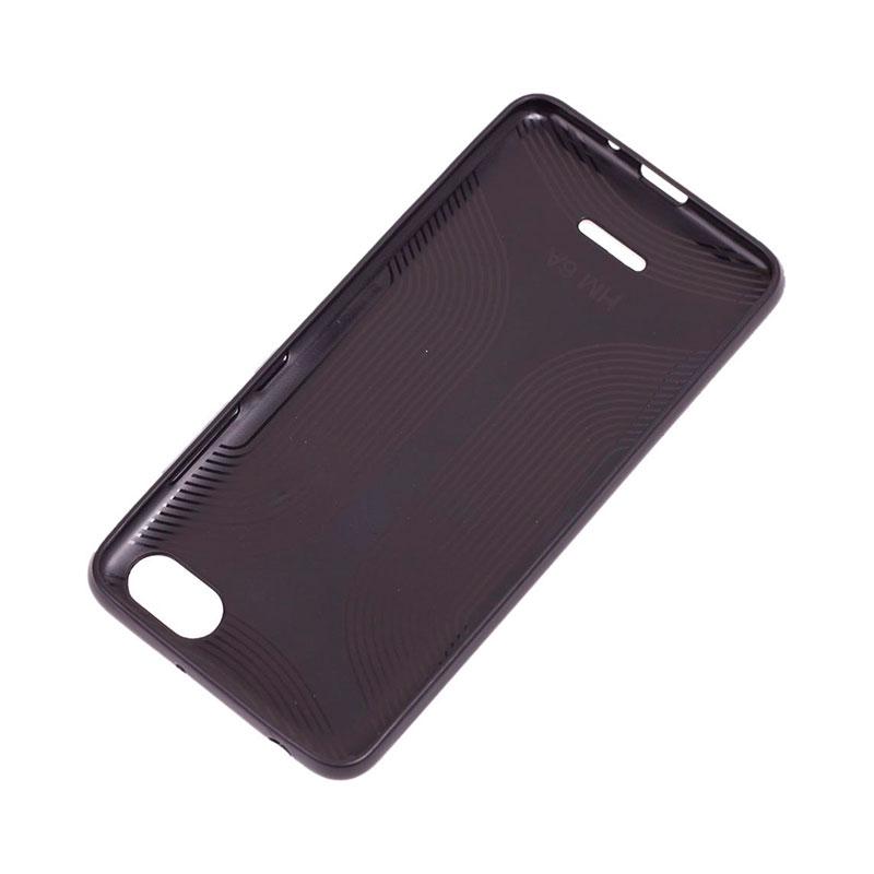 Чехол для Xiaomi Redmi 6A Leather с блестками фото 3