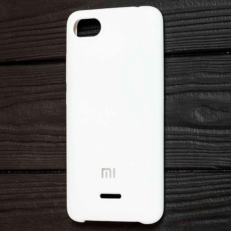 Чехол для Xiaomi Redmi 6A Soft Touch Silicone Cover фото 1