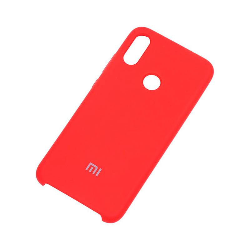 Чехол для Xiaomi Redmi Note 7 Soft Touch Silicone Cover фото 2