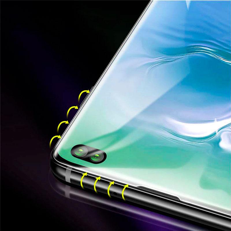 5D Защитное стекло Samsung Galaxy S10 Plus (G975) Baseus Full Size фото 1