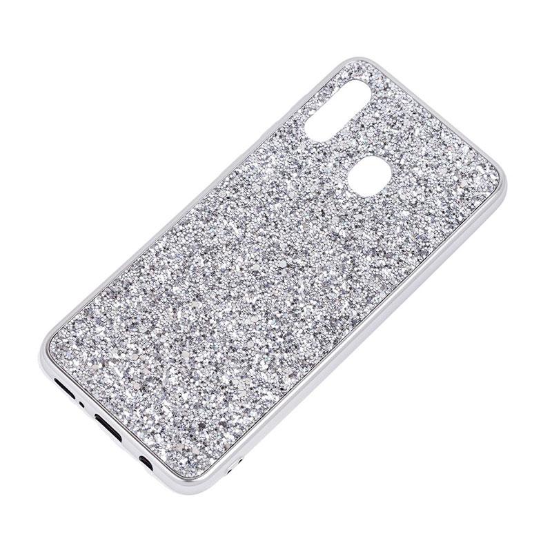 Чехол для Samsung Galaxy A30 (A305) Shining Sparkles с блестками фото 2