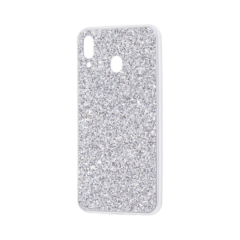 Чехол для Samsung Galaxy M20 (M205) Shining Sparkles с блестками фото 1
