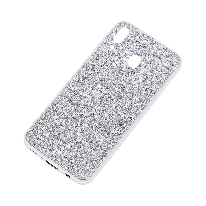 Чехол для Samsung Galaxy M20 (M205) Shining Sparkles с блестками фото 2
