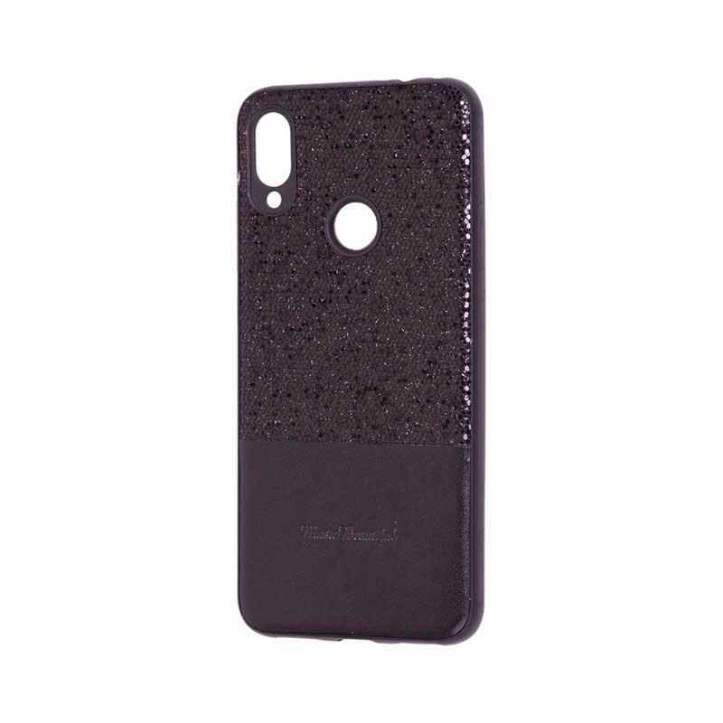 Чехол для Xiaomi Redmi Note 7 Leather с блестками фото 1