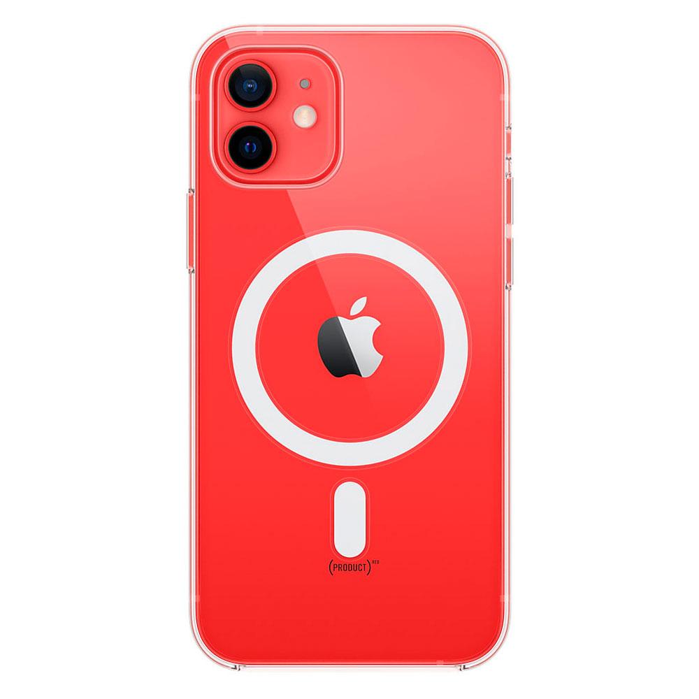 Прозрачный чехол для iPhone 12 / 12 Pro Clear Case With MagSafe фото 1