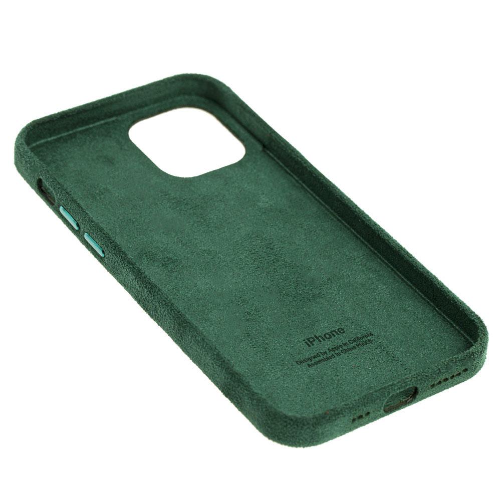 Замшевый чехол для iPhone 12 / 12 Pro Alcantara фото 3