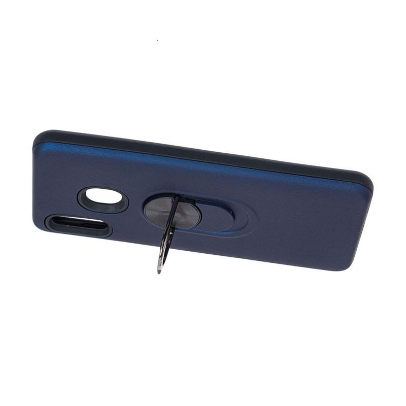 Противоударный чехол для Samsung Galaxy A20 (A205) SoftTouch с кольцом фото 1