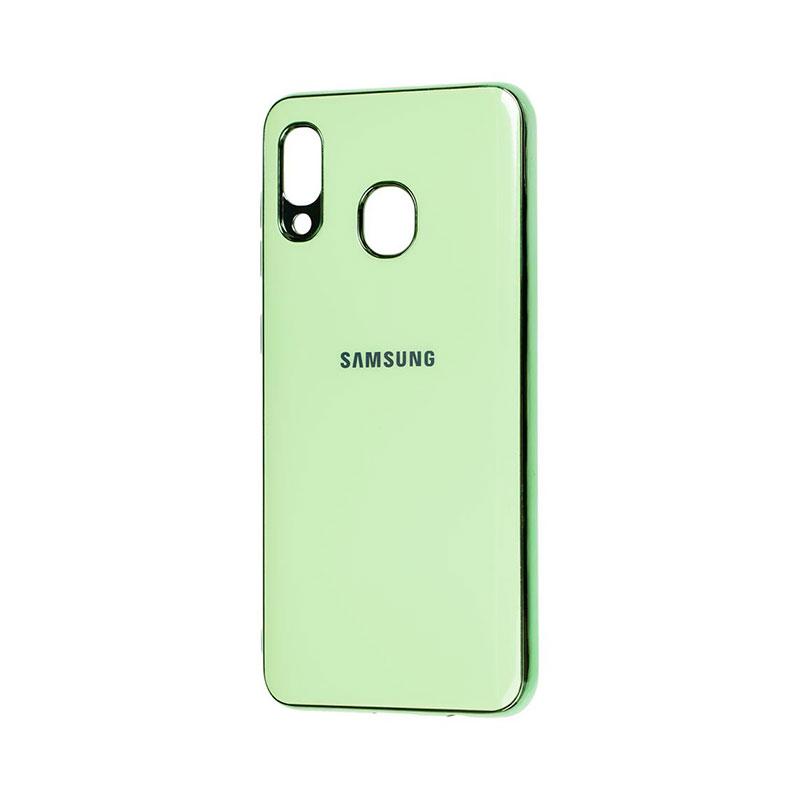 Чехол для Samsung Galaxy A30 (A305) Glass Silicone Case фото 1