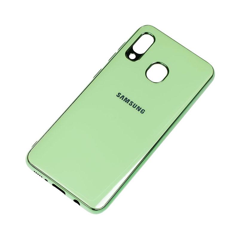 Чехол для Samsung Galaxy A30 (A305) Glass Silicone Case фото 2