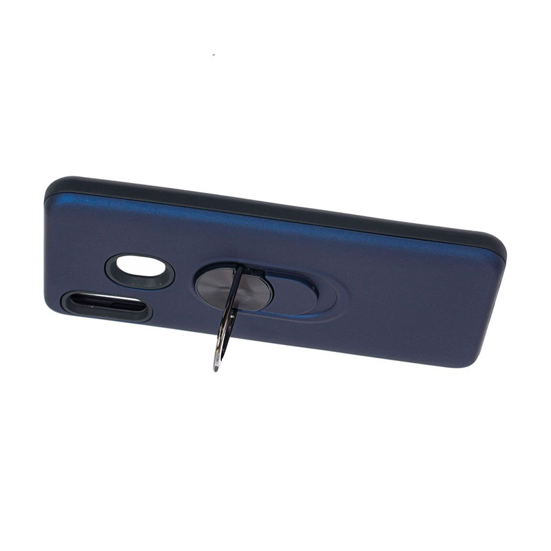 Противоударный чехол для Samsung Galaxy A30 (A305) SoftTouch с кольцом фото 1