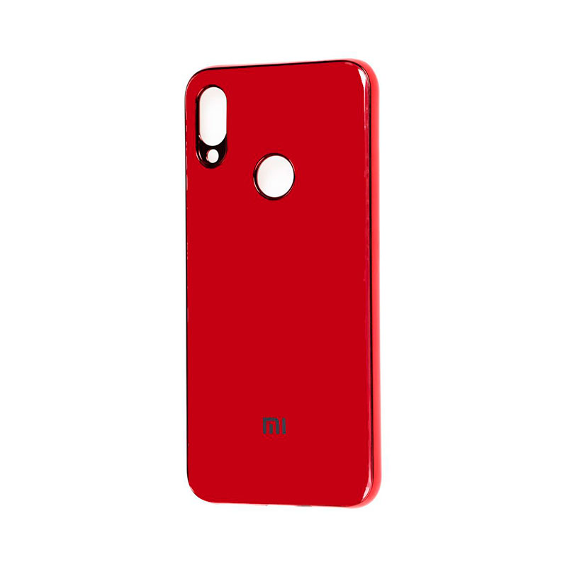 Чехол для Xiaomi Redmi Note 7 Glass Silicone Case фото 1