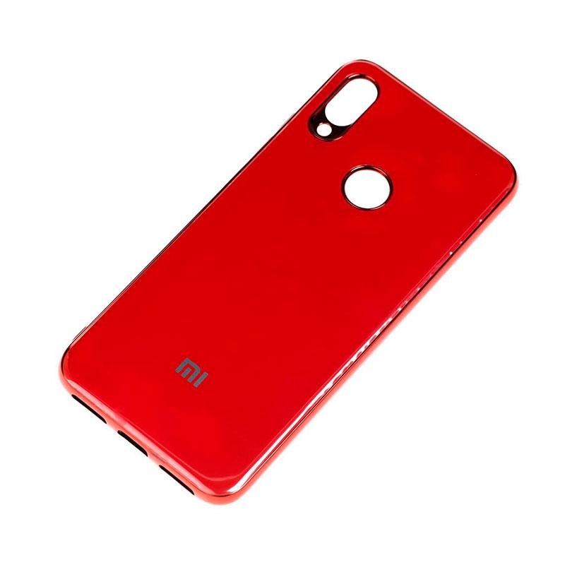 Чехол для Xiaomi Redmi Note 7 Glass Silicone Case фото 2