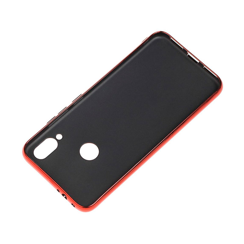 Чехол для Xiaomi Redmi Note 7 Glass Silicone Case фото 3