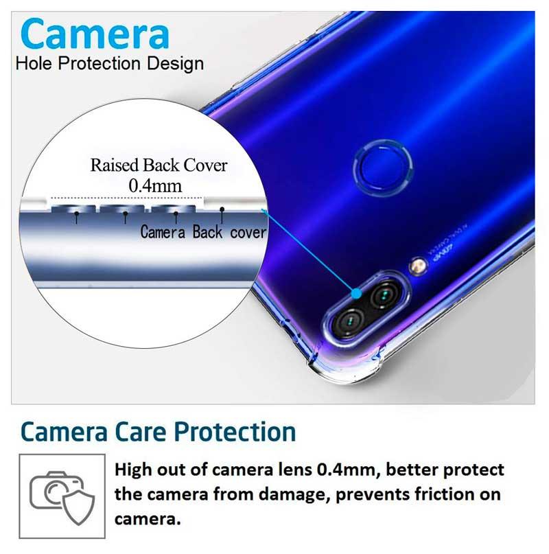 Противоударный силиконовый чехол для Xiaomi Redmi Note 7 WXD фото