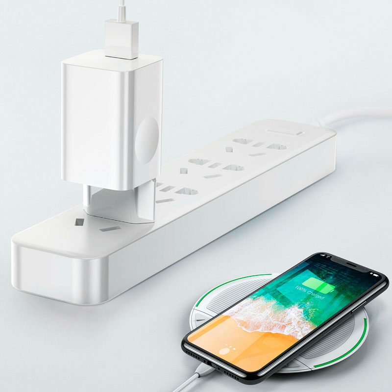 Зарядное устройство Baseus Quick Charge QC 3.0 24W White фото 1