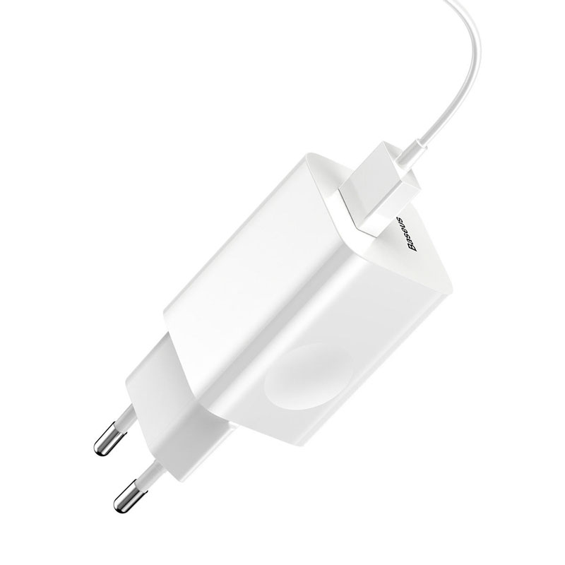 Зарядное устройство Baseus Quick Charge QC 3.0 24W White фото 4