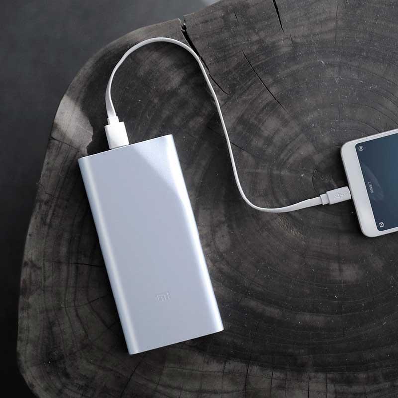 Power bank Xiaomi Mi 2S 10000mAh Silver (VXN4228CN) фото