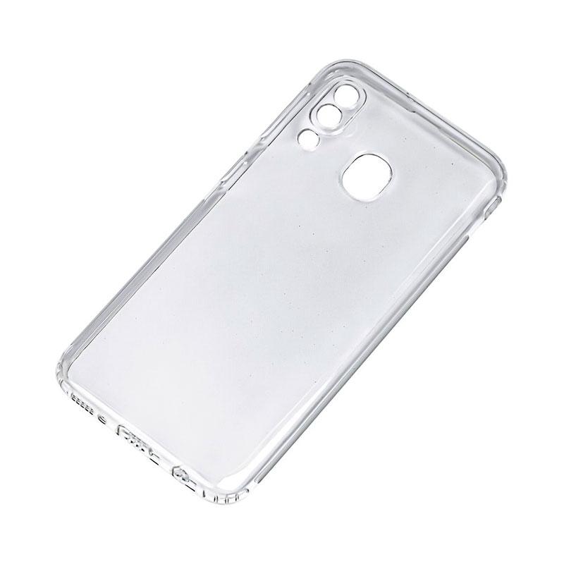 Тонкий силиконовый чехол для Samsung Galaxy A10s (A107) с усиленными углами фото