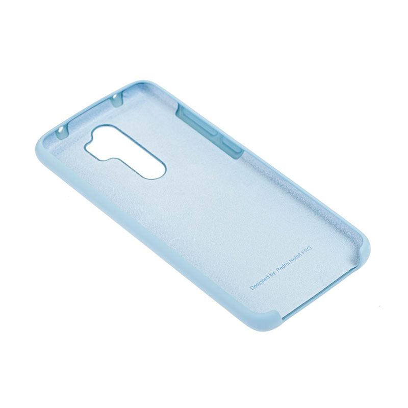 Чехол для Xiaomi Redmi Note 8 Pro Soft Touch Silicone Cover фото 3