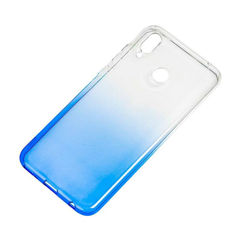 Силиконовый чехол на Huawei Honor Play Gradient Design фото 2