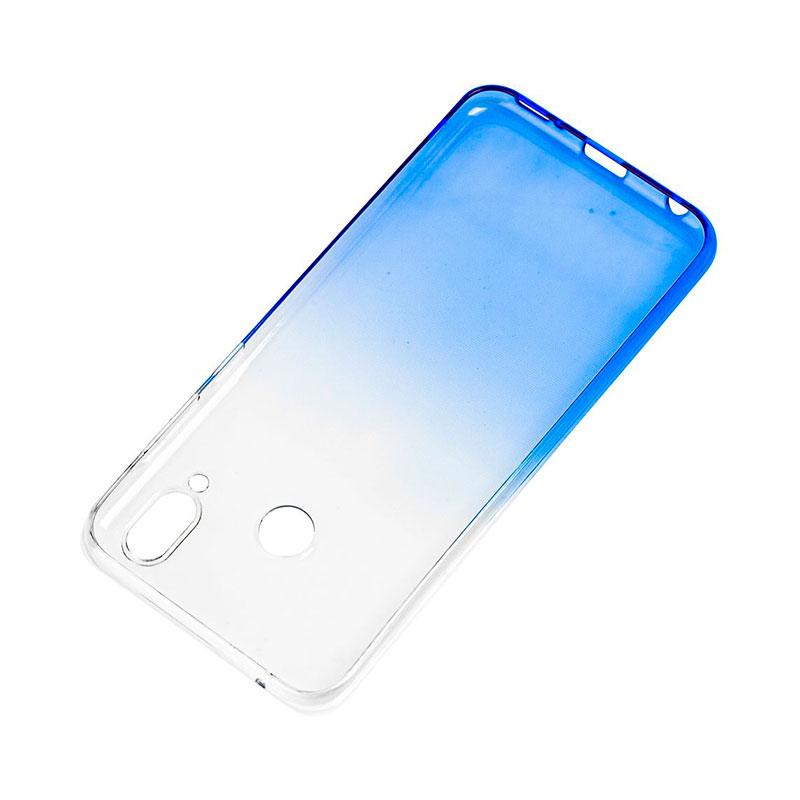 Силиконовый чехол на Huawei Honor Play Gradient Design фото 3