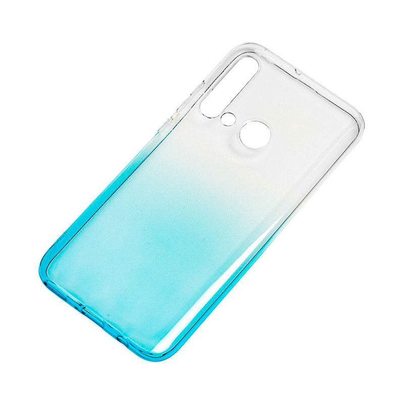 Силиконовый чехол для Huawei P20 Lite 2019 Gradient Design фото 2