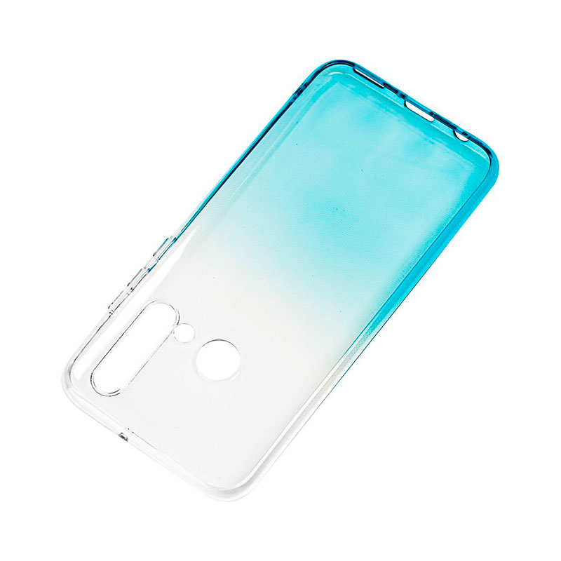 Силиконовый чехол для Huawei P20 Lite 2019 Gradient Design фото 3