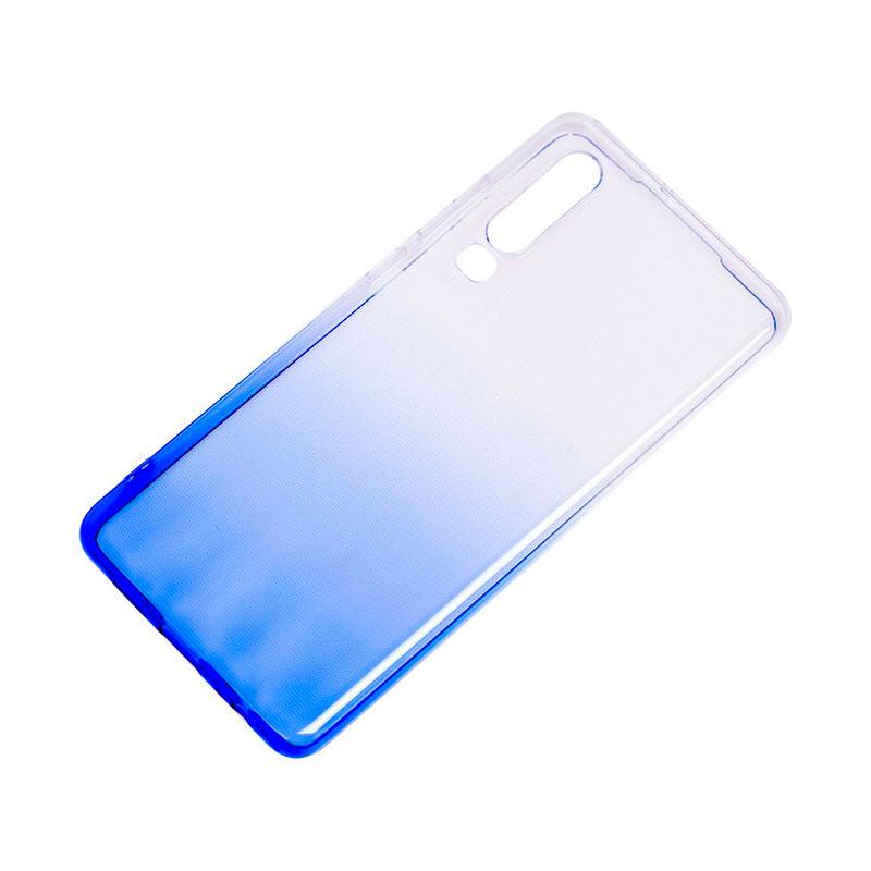 Силиконовый чехол на Huawei P30 Gradient Design фото 2