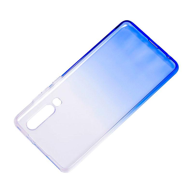 Силиконовый чехол на Huawei P30 Gradient Design фото 3