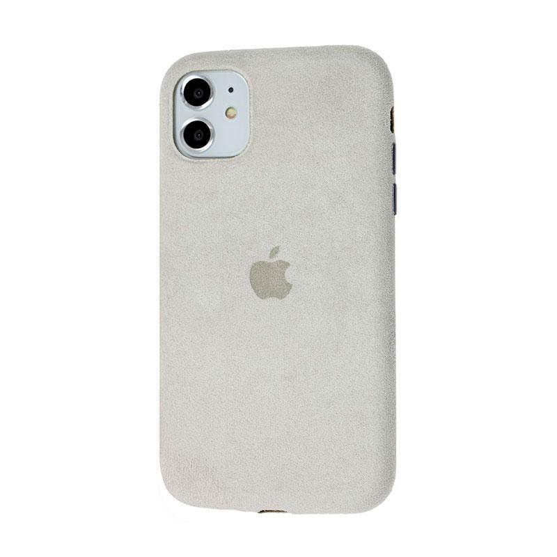 Замшевый чехол для iPhone 11 Alcantara фото 1