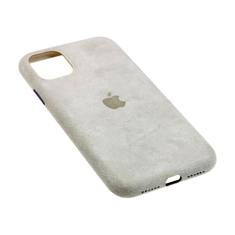 Замшевый чехол для iPhone 11 Alcantara фото 2