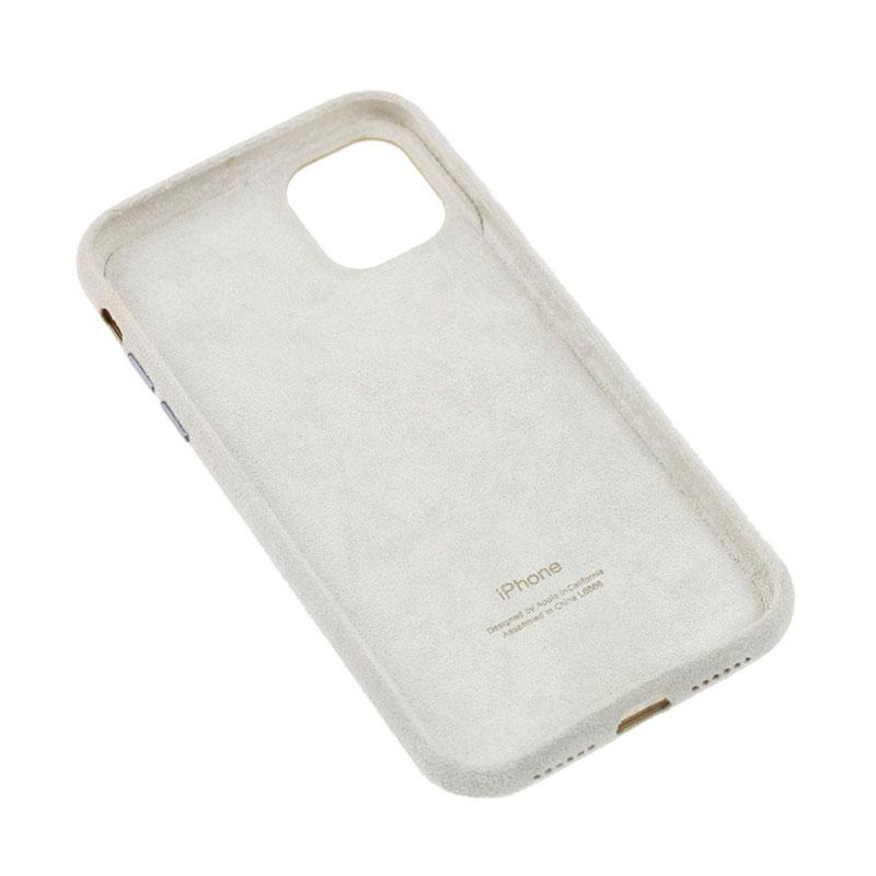 Замшевый чехол для iPhone 11 Alcantara фото 3