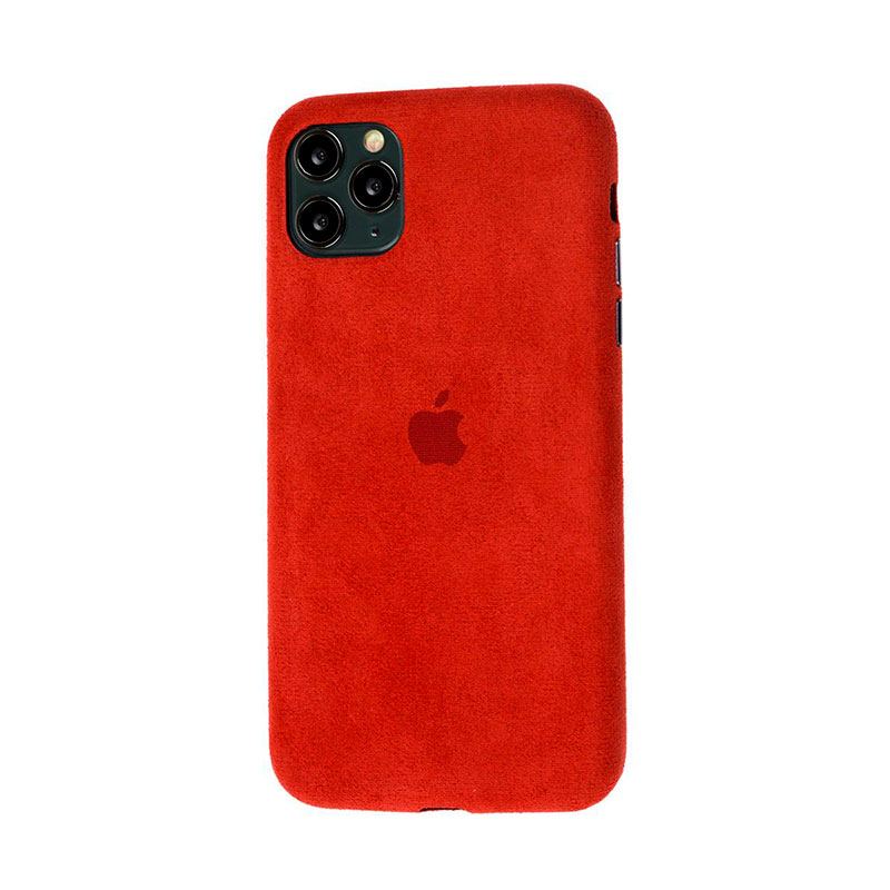 Замшевый чехол для iPhone 11 Pro Max Alcantara фото 2