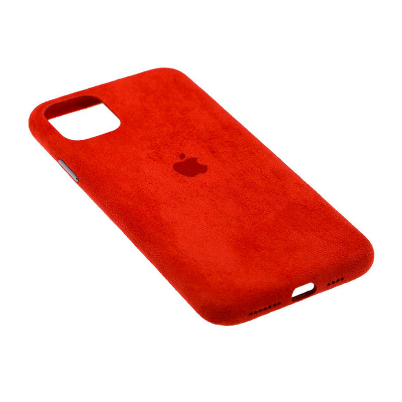 Замшевый чехол для iPhone 11 Pro Max Alcantara фото 3