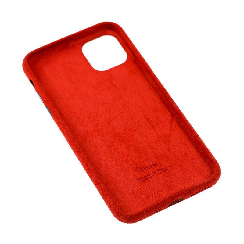 Замшевый чехол для iPhone 11 Pro Max Alcantara фото 1