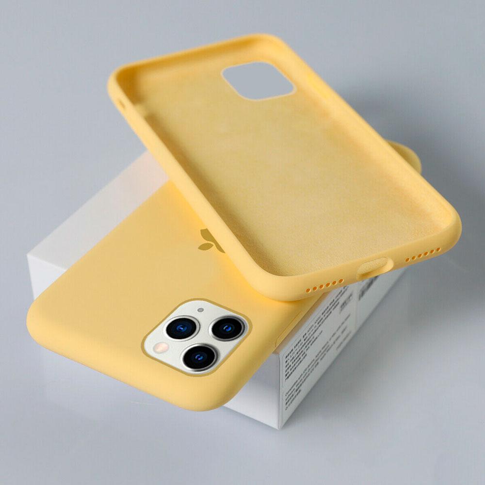 Силиконовый чехол для iPhone 11 Pro Max Silicone Case Full фото 3