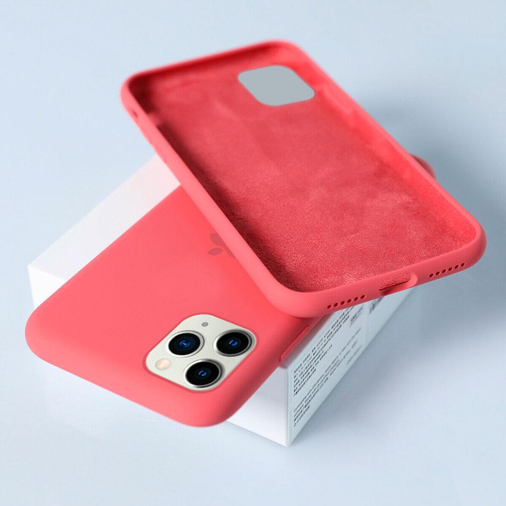 Силиконовый чехол для iPhone 11 Pro Max Silicone Case Full фото 1