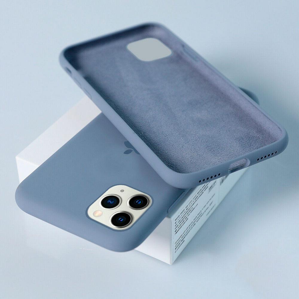 Силиконовый чехол для iPhone 11 Pro Max Silicone Case Full фото 2