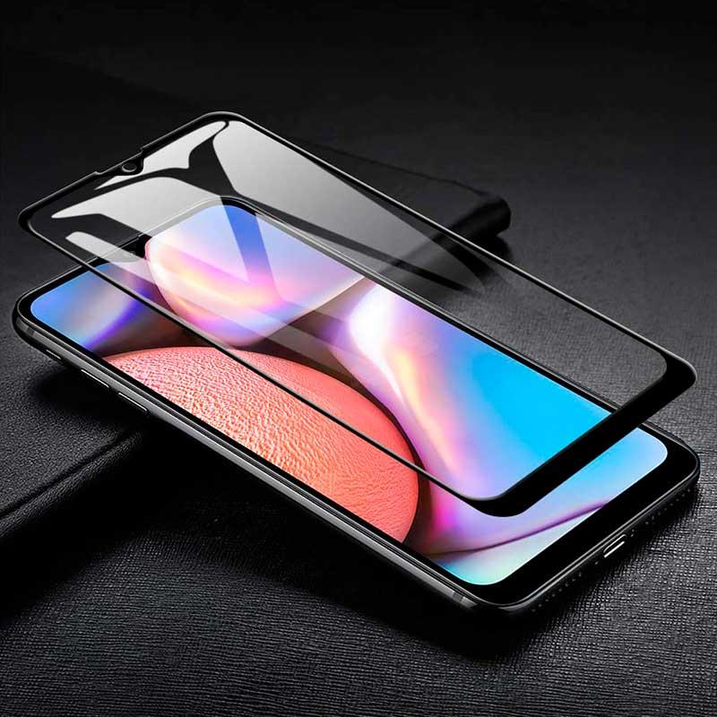 Защитное стекло 5D Samsung Galaxy A10s (A107) Full Glue фото