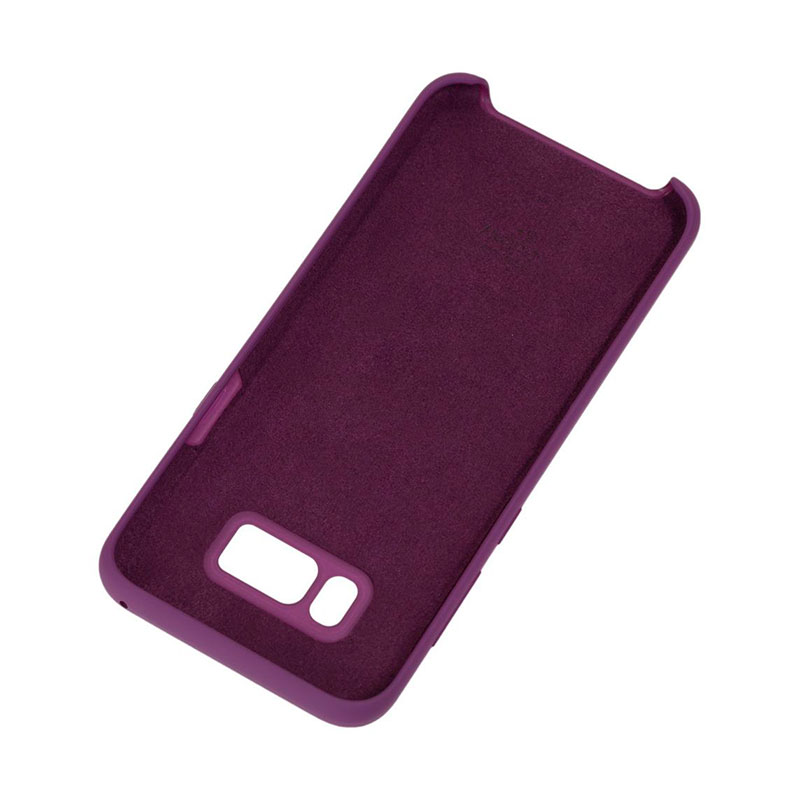 Чехол для Samsung Galaxy S8 Plus (G955) Silicone Cover фото 3