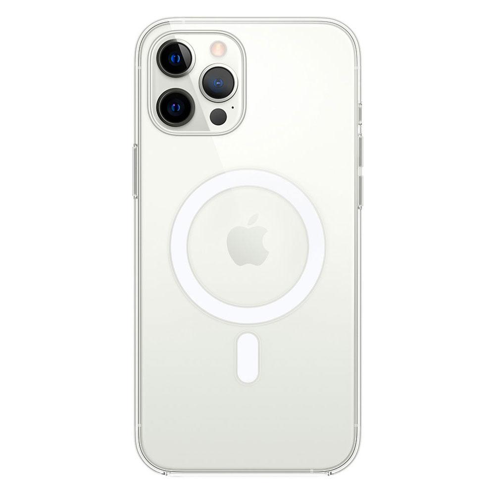 Прозрачный чехол для iPhone 12 Pro Max Clear Case With MagSafe фото 1