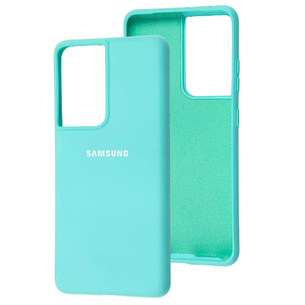 Силиконовый чехол для Samsung Galaxy S21 Ultra (G998) Silicone Full фото